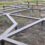 Фундамент на сваях установим в Горках и районе