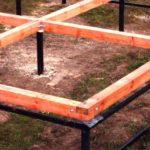 Свайно-винтовой Фундамент под ключ в Червене