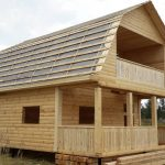 Строим Дома из бруса сруб Артем 6х8 в Смиловичах