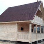 Построим Сруб Дома/Бани брус Фелия 6х6м в Клецке