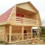 Недорого Построим Дом из бруса на вашем участке в Докшицком р-не