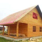 Строительство и отделка Домов бань из бруса . Марьина Горка