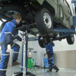Слесарные работы по автомобилю