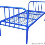 Кровати одноярусные металлические двухспальные