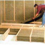 Монтаж деревянных полов с утеплением Вилейка и район