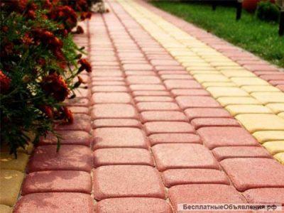 Укладка тротуарной плитки от 50 м2 Веселки/Минск