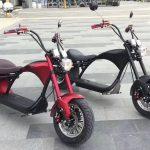Электрический скутер (самокат) Citycoco Harley Chopper 3000w