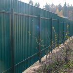 Забор из профнастила, сварная сетка. Рассрочка