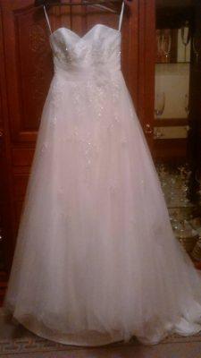 Классическое свадебное платье из Англии