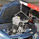 Замена двигателя (снятие, установка)