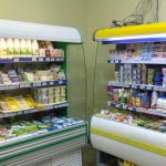 Витрина холодильная для магазина 2 шт