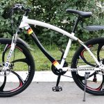 Велосипед на литых дисках BMW M-Power