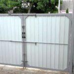Ворота распашные без калитки под ключ 3 на 1,5 метра