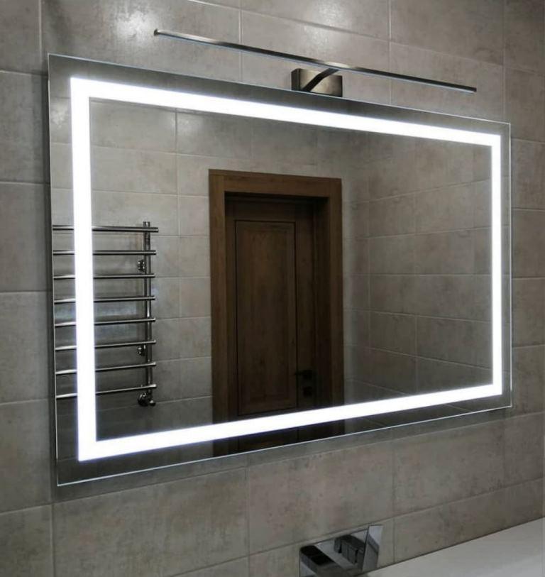 Продаем осветленные зеркала с подсветкой