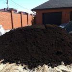 Доставка грунта, торф, растительный грунт