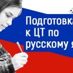 Подготовка к ЦТ по русскому языку в Борисове