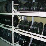 Стеллаж для хранения дисков 2000х500х2000
